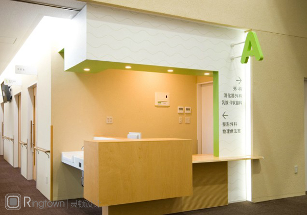 【医院导视设计】日本加纳岩综合病院导视设计