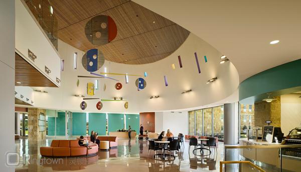 治愈系设计——美国德克萨斯儿童医疗中心