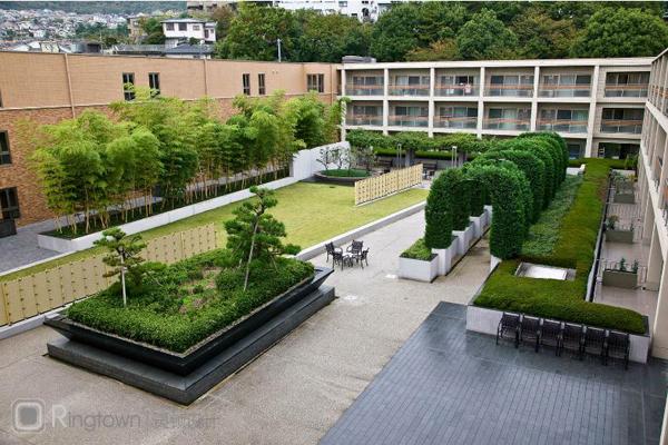 【醫院環境景觀設計】日本寶冢太陽城療養院景觀
